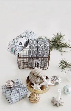 Scandinavian gift wrapping