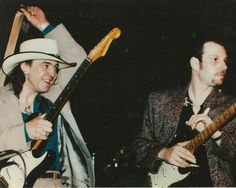 Stevie Ray Vaughan and Ronnie Earl | by RonnieEarlBlues