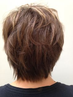 Marrow final Medium Layered Haircuts, Layered Hairstyles, Cute Hairstyles, Short Hair With Layers, Short Hair Cuts, Medium Hair Styles, Short Hair Styles, Long Pixie, Hair Color And Cut