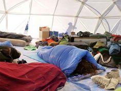 Sleeping In Dome