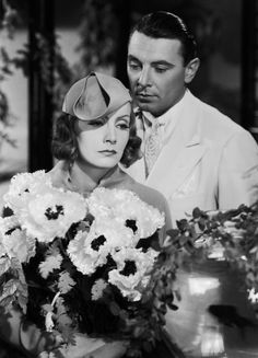July Greta Garbo - and George Brent - become lovers in 'The Painted Veil', directed by Richard Boleslawski and based on the novel by W Somerset Maugham. (Photo by Milton Brown/John Kobal Foundation/Getty Images) Hollywood Cinema, Classic Hollywood, Old Hollywood, Marlene Dietrich, Brigitte Bardot, Milton Brown, Divas, George Brent, The Painted Veil