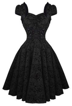 Buy Charmant Dress Black  by Hearts & Roses, London