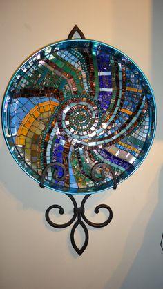 Swirl Mosaic Tray