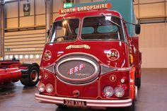 Vintage ERF truck