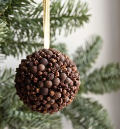 Scented natural Christmas ornament by florasense
