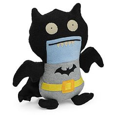 ThinkGeek :: DC Comics Batman Uglydoll Ice-Bat, $19.99