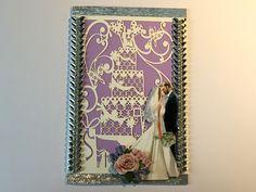 Hochzeitskarten - Karte zur Hochzeit Nr. 605 - ein Designerstück von MM-Bastelparadies bei DaWanda Newlyweds, Crafting