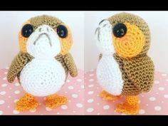 Star Wars Crochet Porg Free Pattern and Tutorial Video - YARN OF CROCHET