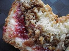 Santa Rosa Plum coffee cake - I've got to do something with all those plums!