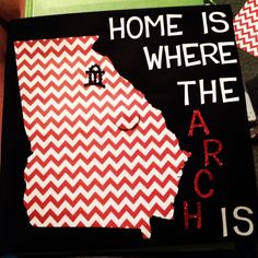 home is where the arch is  (Hey, @Britt Gallman, your cap is famous now)