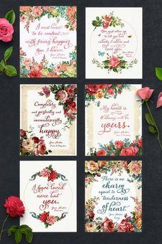 Free Jane Austen Quote Printables | Teepee Girl