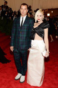 Todas las fotos de celebrities y de alfombra roja de la gala del MET 2013: Gwen Stefani y Gavin Rossdale
