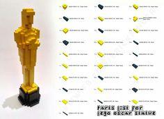 Make me a LEGO Oscar for my performance