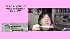Sheri Ann Richerson from ExperimentalHomesteader.com talks about and  shows you how to use the Xerox Mobile WiFi Scanner that she received for review.  Sheri Ann Richerson is a long time YouTube and more recently a vlogger living in Indiana. She posts videos about: Homesteading Topics Gardening Cooking Food Preservation Crafting Animals Tag Videos Product Reviews Hauls DIY Videos and More!  Merchandise: Shopify: http://ift.tt/22yNb2o Spreadshirt: http://ift.tt/1VVJz5t CafePress…