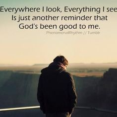 I can not thank God enough. He has been so good to me!