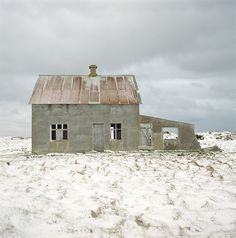 Love the subtle colors and the desolation this photo captures.  (Iceland, Numi Thorvarsson)