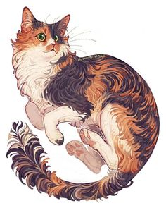 Commission for Kit Morris. Commissions are going to open again next … Commission for Kit Morris. Commissions are going to open again next … – Zeichnungen – Art And Illustration, Illustrations, Warrior Cats, Warrior Cat Drawings, Pretty Art, Cute Art, Bel Art, Art Mignon, Animal Drawings