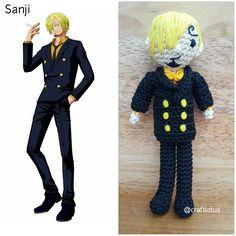 Amigurumi one piece sanji