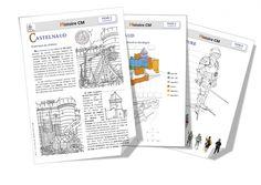 Histoire CM : Le château de Castelnaud - Bout de gomme