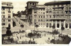 Foto storiche di Roma - Descrizione: Piazza Verbano, lato Viale Villa Savoia (ora Villa Ada)
