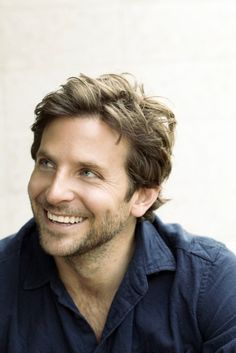 Bradley Cooper. Oh Bradley Oh Brad... How you can look at me with those eyes and smile. You make it into my Silver linings Playbook anytime. I have only seen two or three movies of his but OMG, those are more than enough to solidify him into my pregnancy by look category.