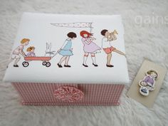 Innocence of Childhood Fabric Tidy by Toriee by gainstory on Etsy, $150.00