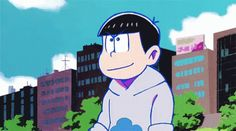 Karamatsu Todomatsu GIF - Karamatsu Todomatsu OsomatsuSan - Discover & Share GIFs