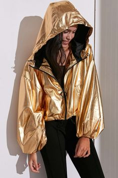 Silence + Noise Diana Balloon Sleeve Jacket - Urban Outfitters