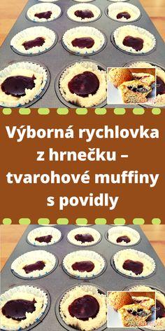 Muffins, Cheesecake, Food And Drink, Pie, Homemade, Breakfast, Recipes, Cupcake, Plum Jam