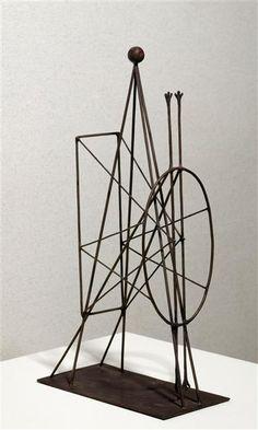 Construction Picasso Pablo (dit), Ruiz Picasso Pablo (1881-1973) Paris, Centre Pompidou - Musée national d'art moderne - Centre de création industrielle
