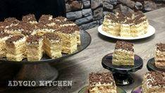 Prajitura Vladut cu nuca si vanilie reteta video - Adygio Kitchen Romanian Desserts, Cake Recipes, Dessert Recipes, Food Cakes, Beignets, Saveur, Homemade Cakes, Cake Cookies, Tiramisu
