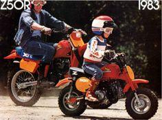 1983 Honda Z50R Brochure. #Honda Monkey #Z50