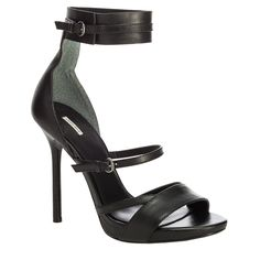 EMMYB - STRAPPY ANKLE WRAP STILETTO by Maxstudio - Found on HeartThis.com @HeartThis