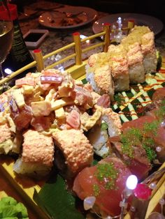 Grille 54 Sushi Boat. (Mt Fuji, Deadliest Catch)