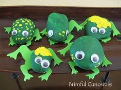 frog rock craft - Google Search