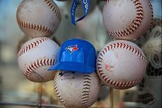 Blue Jays Baseball Wreath