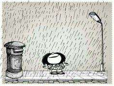 Ame como a chuva fina. Ela cai em silêncio, quase sem se fazer notar, mas é capaz de transbordar rios.
