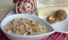 Dovete provare il risotto al radicchio taleggio e noci! Ha un connubio di sapori davvero perfetto. Per le grigie giornate invernali è quello che ci vuole!