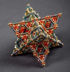 Fantastic intersecting tetrahedra by Martina Nagale
