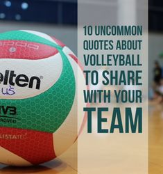 10 Uncommon Quotes About Volleyball to Share with Your Team - These are great! Not only for vball! Volleyball Tryouts, Volleyball Motivation, Volleyball Skills, Volleyball Practice, Coaching Volleyball, Volleyball Players, Volleyball Team Shirts, Volleyball Ideas, Volleyball Training
