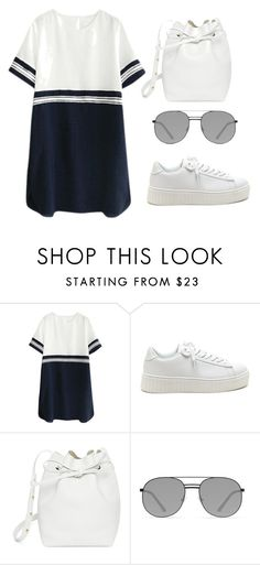 """Untitled #130"" by ipinkiee ❤ liked on Polyvore featuring Mansur Gavriel and Elizabeth and James"