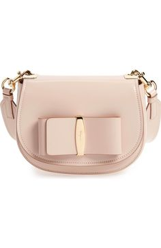 Main Image - Salvatore Ferragamo Anna Vara Leather Crossbody Bag