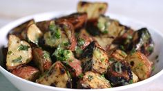 How to Make Grilled Potato Salad
