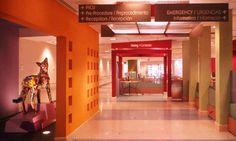 Hallway, Phoenix Children's Hospital, Karlsberger Companies #SEGD