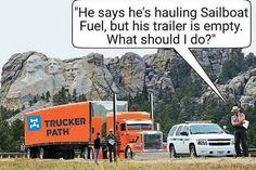https://truckerpath.com/trucker-path-app/ Funny Trucker Memes Semi Truck humor #Trucks #Funny #Meme #Trucker #Bigrig #Humor
