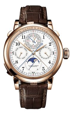 A. Lange & Sohne - Grand Complication, Debuts 2013 ... masterpiece, german/old saxony