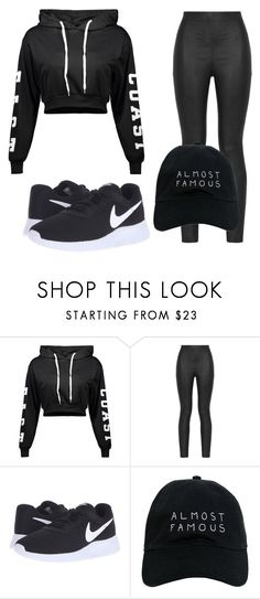 """""""Untitled #79"""" by halissiaelviracra on Polyvore featuring Armani Jeans, NIKE and Nasaseasons"""