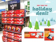 3M Scotch Laminators and Pouches are on Rollback at Walmart – Morning Side Fit