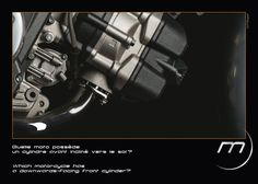 Which #motorcycle has a downwards-facing front cylinder? #Midual #Type1 #midualofficial #unique #luxury #moto