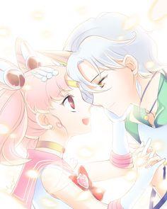 Chibiusa and Helios / Sailor Moon